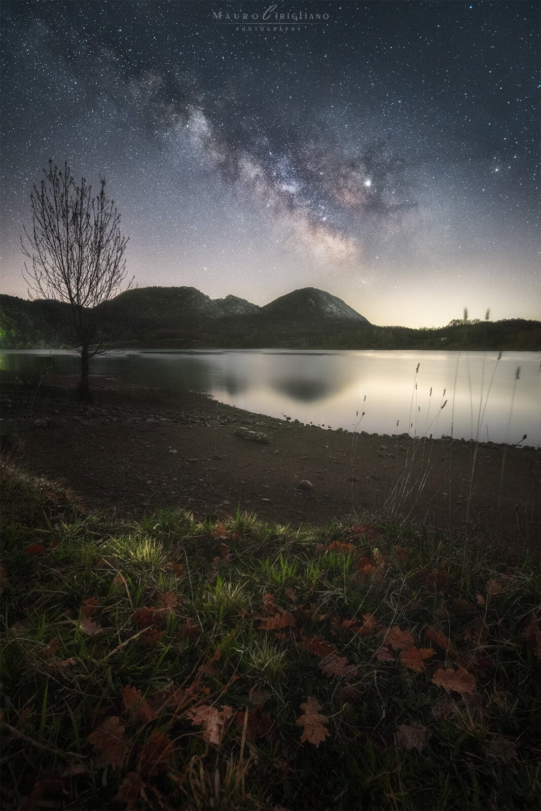 Milkyway and lake