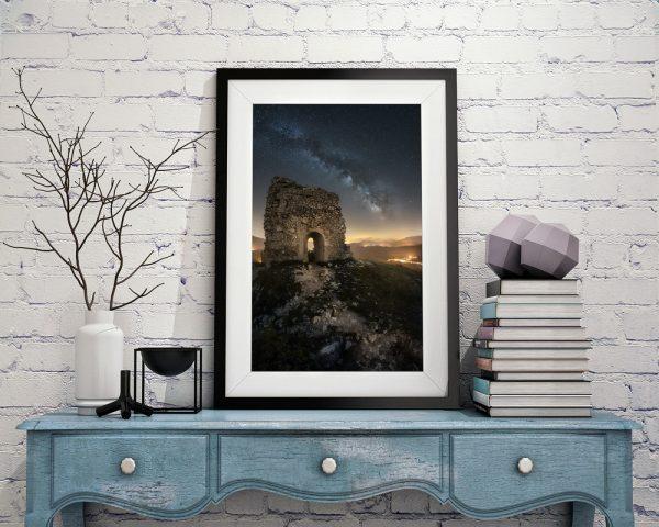abruzzo the ruins print