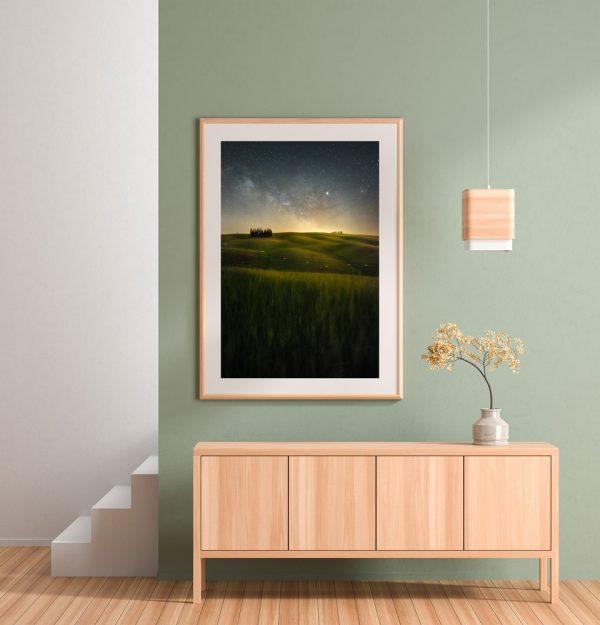cipressini print tuscany