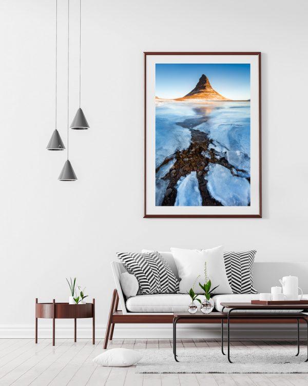 iceland kirkjufell print