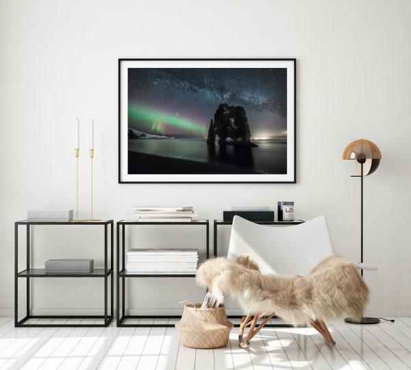 iceland print Hvitserkur