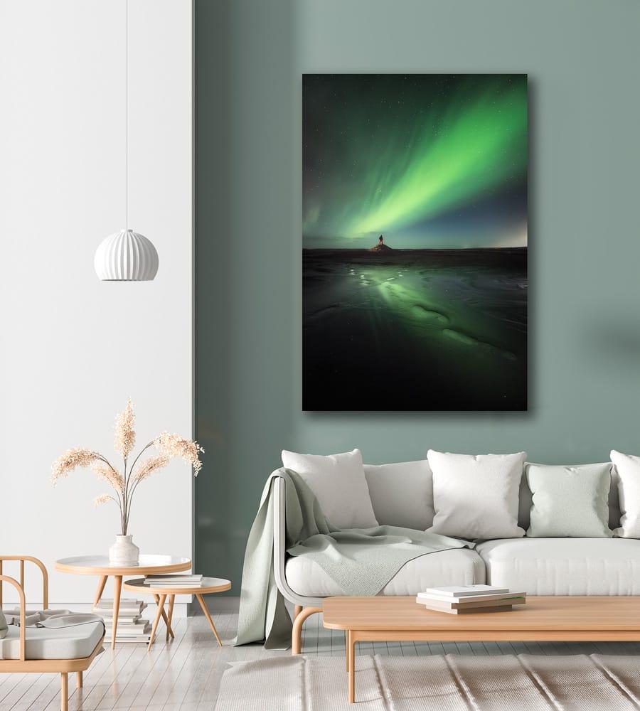 iceland print stokksnes