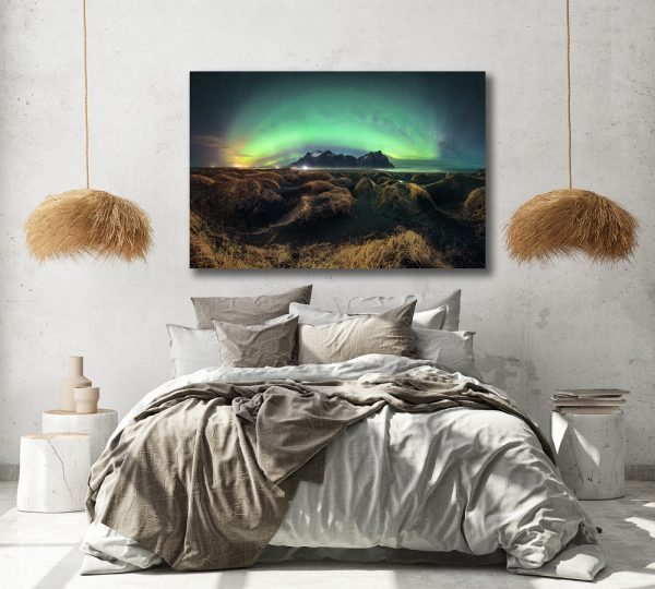 iceland print vestrahorn 1