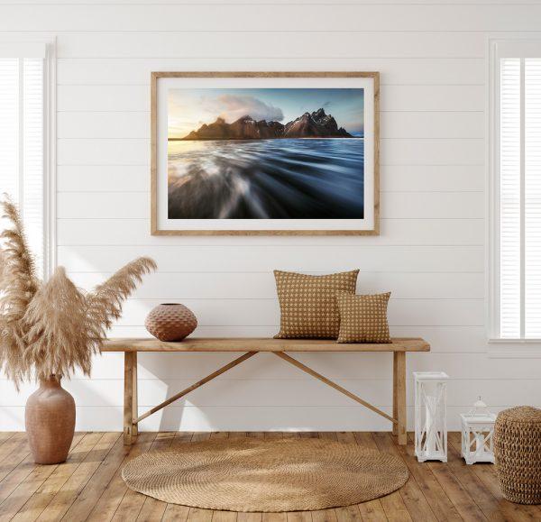 iceland vestrahorn print