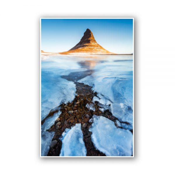 kirkjufell iceland print
