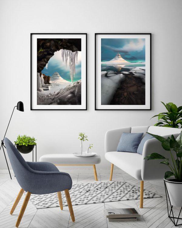 kirkjufell iceland set