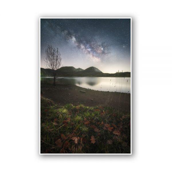 lake italy print