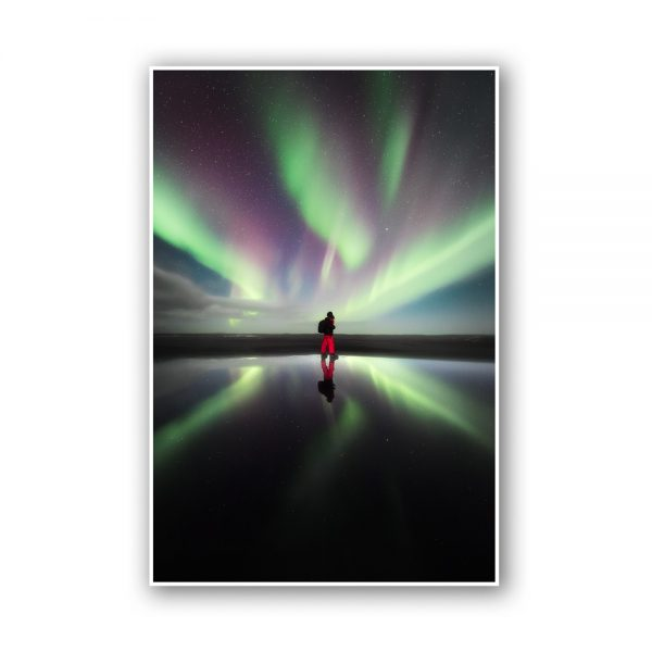 northernlight iceland print