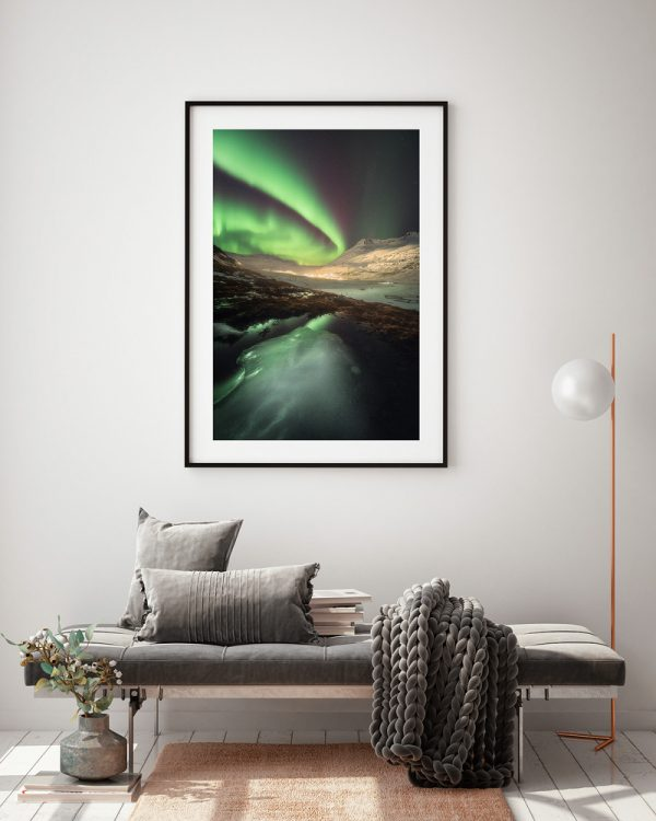 print iceland Seydisfjardarkirkja
