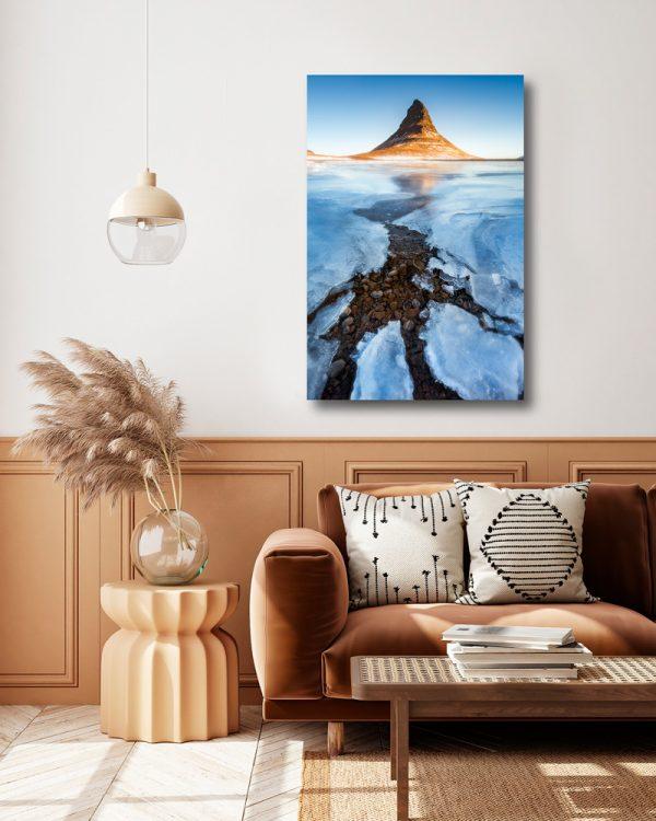 print kirkjufell iceland