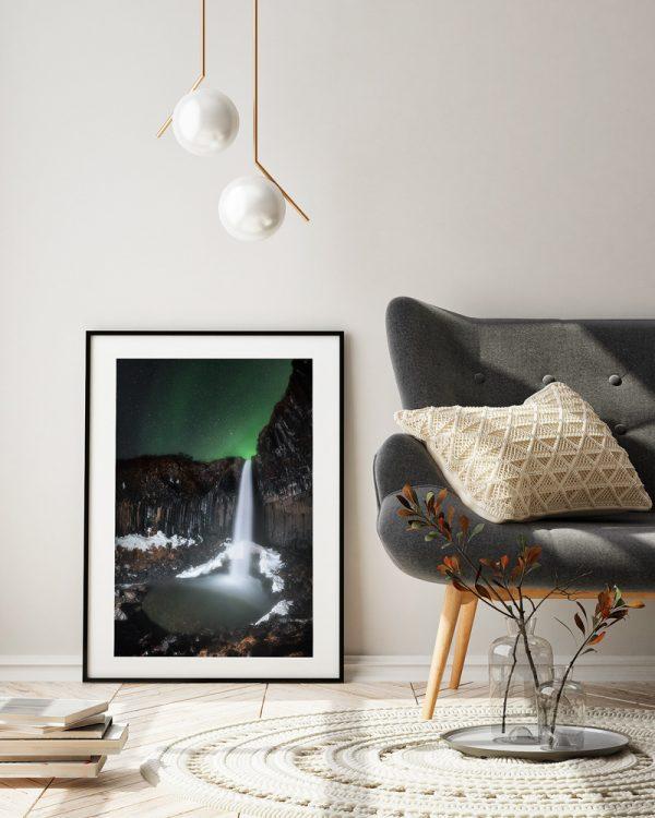 print svartifoss iceland