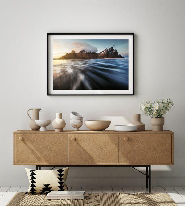 print vestrahorn iceland