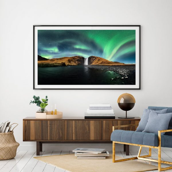 print waterfall skoga