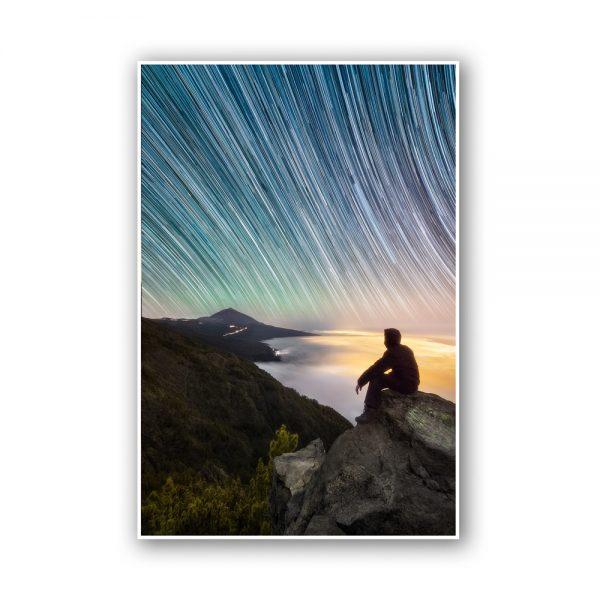 puerto teide star print