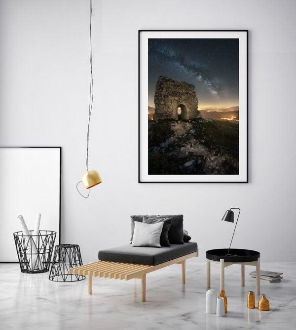 the ruins abruzzo print