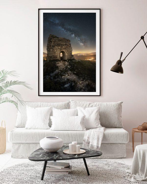 the ruins print abruzzo