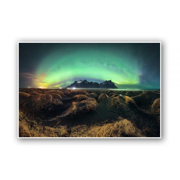 vestrahorn aurora print