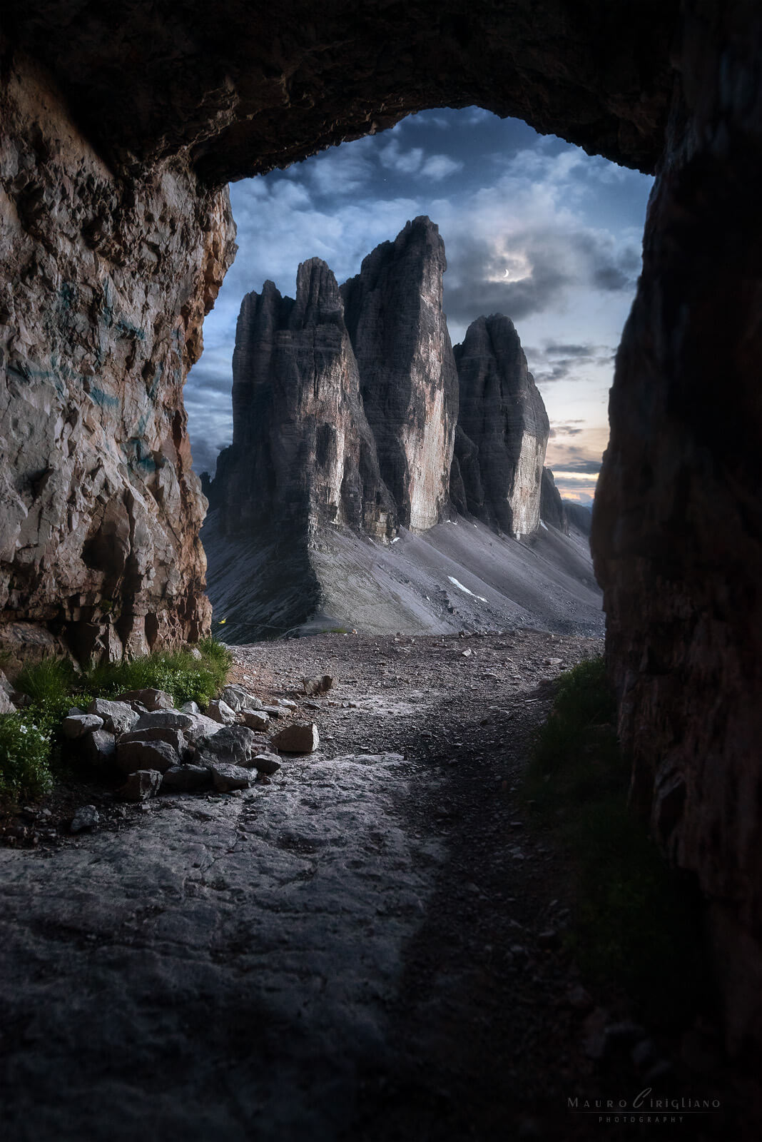tre cime blue hour