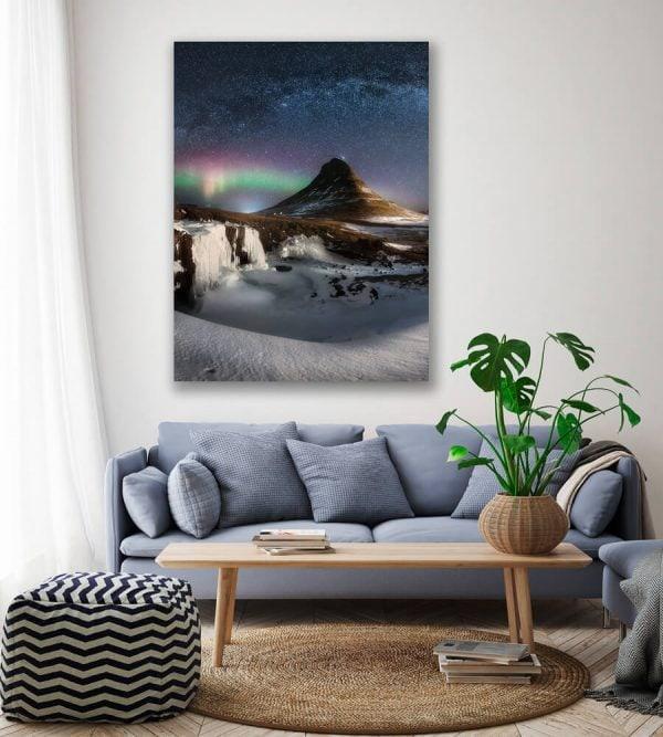 kirkjufell iceland beginning