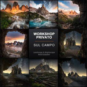workshop fotografico privato