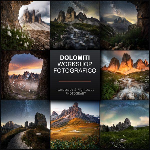 workshop fotografico dolomiti
